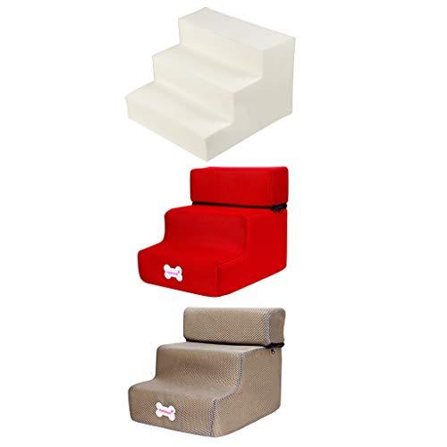Yowablo Neue 3-Stufen-Mesh-Pet-Kombination mit Rutschfester Unterseite und Leiterabdeckung (Falte Größe:30 * 35 * 30cm,3B)