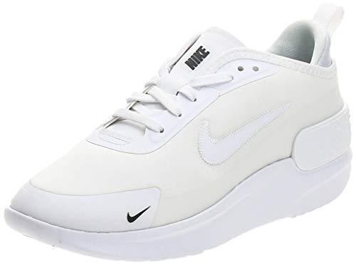 Nike Amixa, Scarpe da Corsa Donna, Bianco/Nero, 38.5 EU