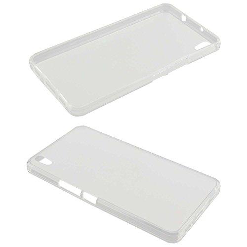 caseroxx TPU-Hülle für Medion S5504 MD 99905/99774, Handy Hülle Tasche (TPU-Hülle in transparent)