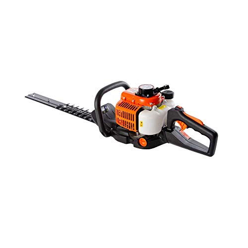 26CC 24' PETROL HEDGE TRIMMER COMPLETE WITH 60CM BLADES