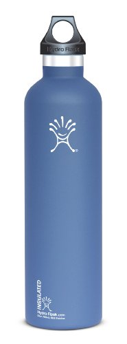 Hydro Flask Stainless Steel Drinking Bottle, Everest Blue, 24-Ounce