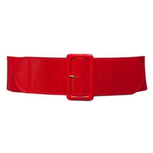 Top red elastic belt plus size for 2020