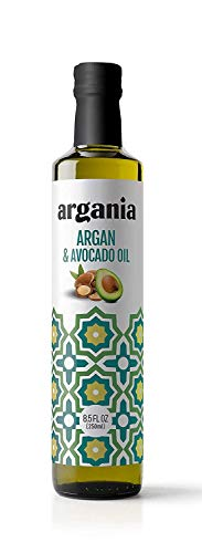 Avocado and Argan Oil Blend, Keto, Paleo, Gluten Free, Non-GMO., for Cooking, Frying, Baking, Homemade Sauces, Dressings and Marinades. 8.45fl oz/ 250ml
