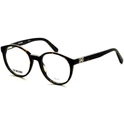 Occhiali da Vista love moschino donna dark havana MOL523 086 49-19-145