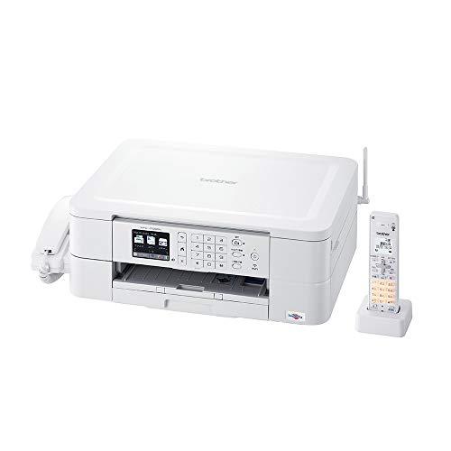 ブラザープリンターA4インクジェット複合機MFC-J738DNFAX電話機子機1台付き無線LAN
