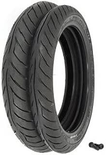 Avon Roadrider AM26 Tire Set - Compatible with Honda CB750 Nighthawk - 1991-2001 - Tires and Valves