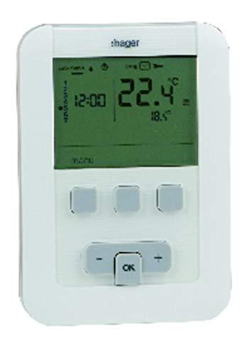Hager - Thermostat EK520 à piles - HAGER : EK520