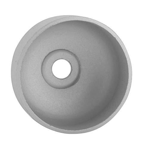 Casquillo eléctrico de la campana de la vespa, maravillosa bicicleta de la campana con la aleación de aluminio (blanco plateado)