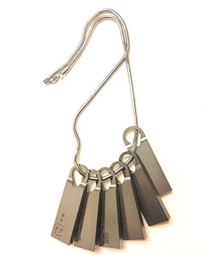 Spiel Tod gestrandet Halskette, chemische Halskette, Rollenspiel Schmuck Legierung Anhänger