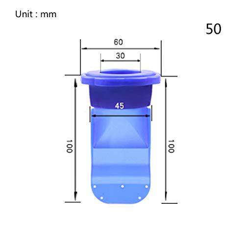 Abcidubxc 1Set 40/50 Röhren Duschablauf,Badablauf Bodenablauf,Deodorant Bodenablauf,Kanalabdichtung