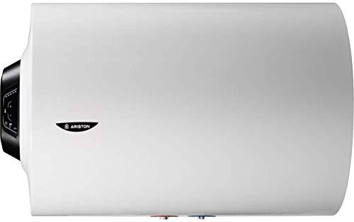 Ariston Pro1 Eco Termo Electrico 80 litros   Calentador de Agua Horizontal, Resistencia Blindada – Intelegente con Display de Leds