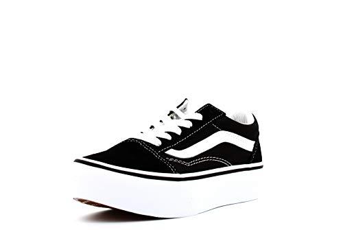 Vans Junior Schoenen Lage Sneakers VN0A3TL36BT1 Oud Skool Platform Maat 34,5 Zwart Wit