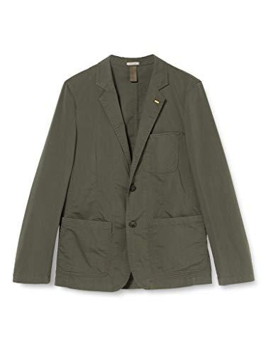 camel active Sacco Blazer, Verde (Olive 33), 56 (Taglia Produttore: 50) Uomo