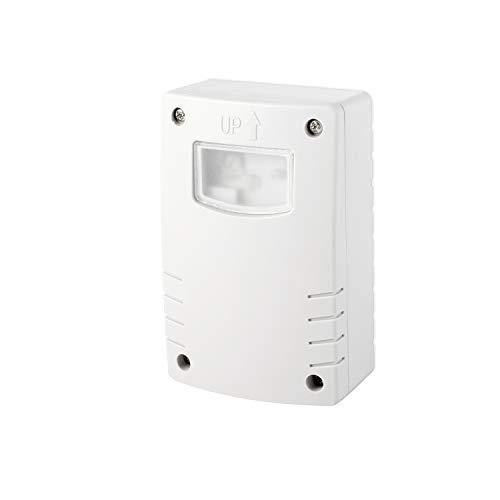 Volton - Sensor de luz crepuscular IP44, Uso Exterior