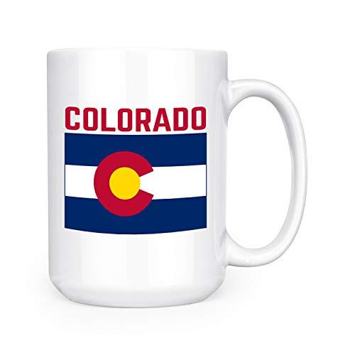 Colorado State Flag - 15oz Deluxe Double-Sided Coffee Tea Mug