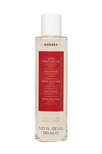 Korres WILD ROSE Feuchtigkeitslotion,1er Pack (1 x 150 ml)