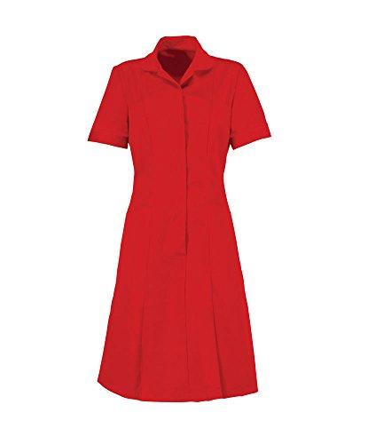 Alexandra al-hp297re-128r serie al-hp297cremallera frontal vestido, Plain, ribete/ribete, 128cm, pecho, tamaño 26, Regular, color rojo