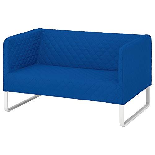 IKEA KNOPPARP sofá 2 asientos 119x76x69 cm Knisa azul brillante