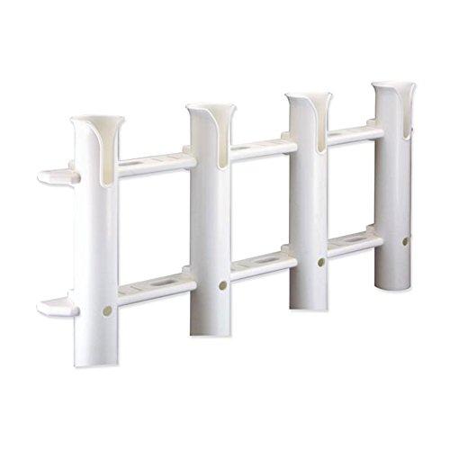 TREM Portacañas - Cañero Blanco para 4 Cañas