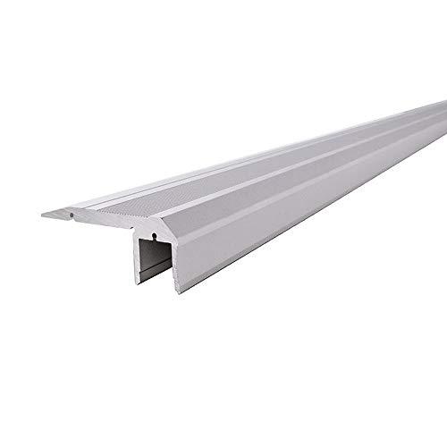 Reprofil LED Profil AL-02-10 Treppenstufen-Profil für 10-11,3 mm LED Stripes, 1500 mm, aluminium eloxiert 970521