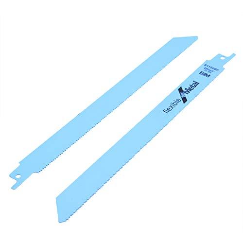 HARIKA 5pcs Metal Reciprocating Saw Blades Sharp Saw Blades Flexible Jig Saw Tools Set 25mm 18tpi DIY Wood Cutting Saw Tools