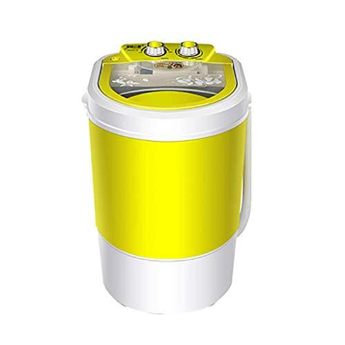 lqgpsx Mini Lavadora Lavadora semiautomática portátil con Cesta de deshidratación Desmontable Lavadora doméstica para niños Capacidad de Lavado-4.5kg / 9.9Lbs