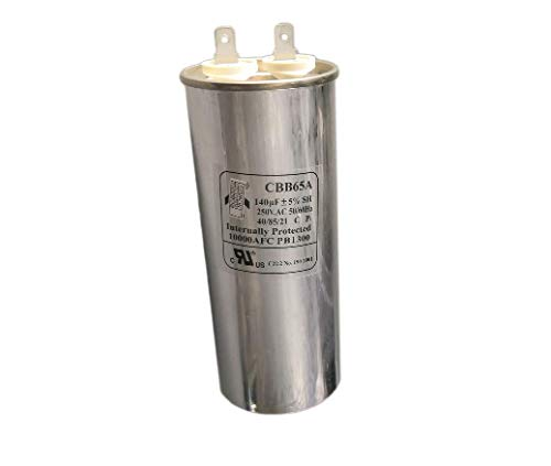 CBB65A Run Capacitor 250VAC 250V AC 140uF 140 uF 140MFD 40/85/21 C P1 50/60Hz 10000AFC PB1300