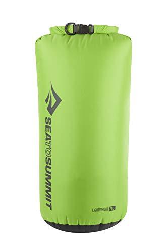 Sea to Summit Lightweight 70D Dry Sack-20 litros Saco Montañismo, Alpinismo y Trekking, Adultos Unisex, Verde (Green), Talla Única