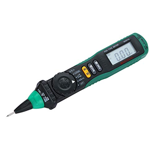Multímetro Tipo Lápiz Mastech Ms8211d Digital, Lcd 3/4 Digital Auto Rango Ac/Dc/Ohm/Continuidad/Amperios Polimetro