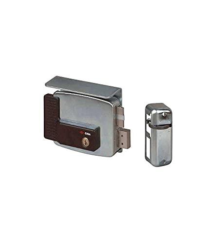 Cisa 11510-10 Serratura Elettrica per Cancello 11761, Entrata Destra, 50 mm