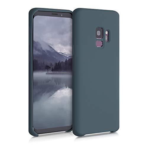 kwmobile Hülle kompatibel mit Samsung Galaxy S9 - Hülle Handyhülle gummiert - Handy Hülle in Slate Gray