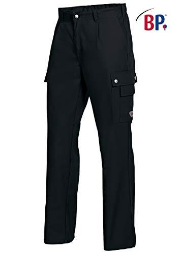 BP 1477-720-32-52 Arbeitshosen, mit elastischem Rückenteil, 305,00 g/m² Verstärkte Baumwolle, schwarz ,52