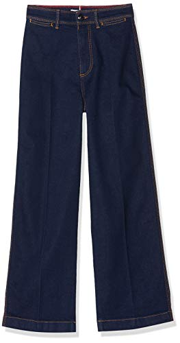 Tommy Hilfiger Bell Bottom HW C Vaqueros Straight, Azul (Uta 1bo), W25/L30 (Talla del Fabricante: Ni25) para Mujer