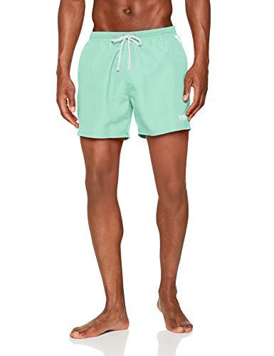 BOSS Herren Pearleye Boardshorts, Light/Pastel Green331, L
