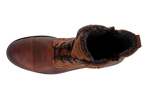 Mustang Herren 4865-608 Kurzschaft Stiefel, Braun (301 Kastanie) - 3