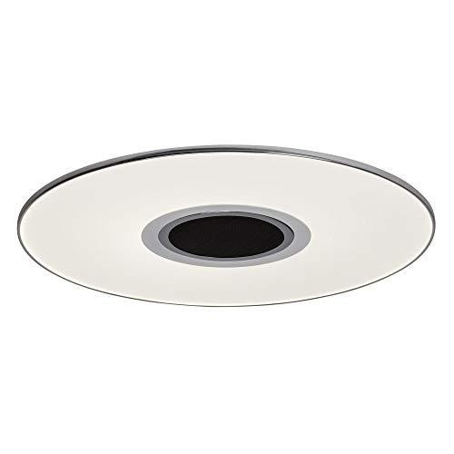 AEG TONIC LED Deckenleuchte mit Lautsprecher Tunable White Ø 48,5 cm Weiß/Chrom