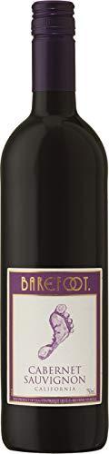6x 0,75l - Barefoot - Cabernet Sauvignon - Kalifornien - Rotwein halbtrocken