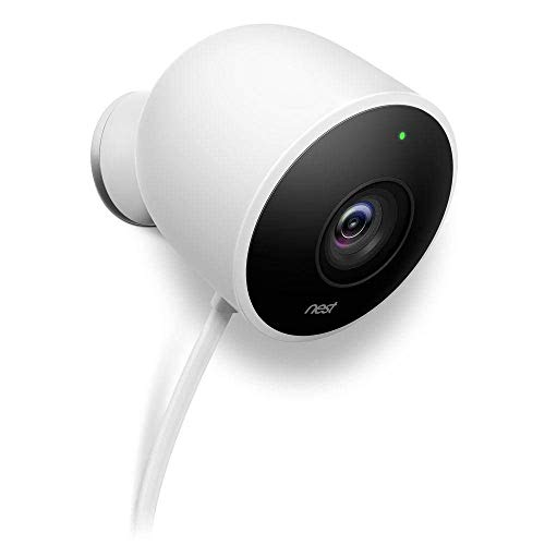 Nest Security Camera, Keep An Eye On What Matters to You, From Anywhere, For Outdoor Use, Works with Alexa