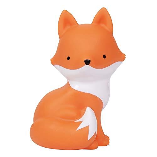 A Little Lovely Company - Nachtlicht, Lampe, Little Light - Fuchs - PVC - orange - 10,5 x 15,3 x 8,5 cm