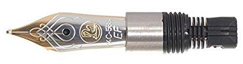 Pelikan Ersatzfeder 14 Kt. 585 Gold, bi-color, rhodiniertes Dekor, F, M300