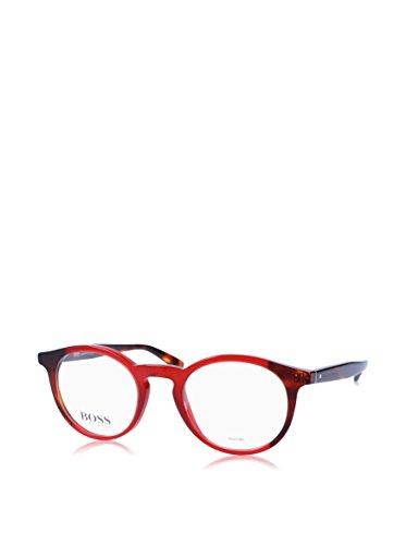 Hugo Boss BO-0255-Q9G-19-53-19-135 Orange Brillengestelle BO-0255-Q9G-19-53-19-135 Rund Brillengestelle 48, Mehrfarbig