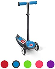Radio Flyer Color Fx Ez Glider 3 Wheel Scooter, Blue (502BA)