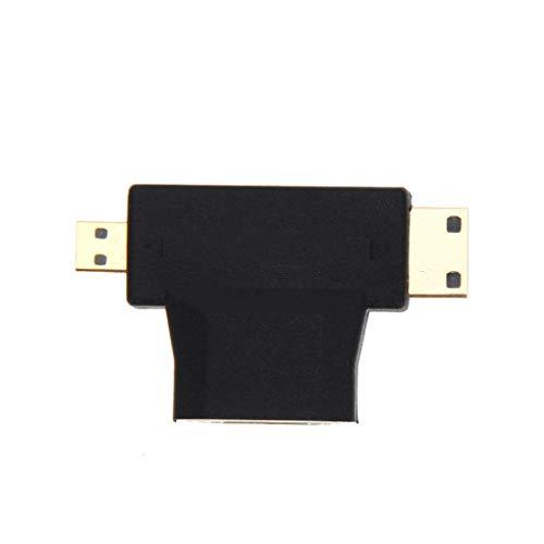 Vokmon 1,5 m 3 en 1 de Alta definición HD al Adaptador de Cables de Alta Velocidad/Micro Cable HD HD Cable de Alta Velocidad Reemplazo del Cable para TV teléfono móvil Gameplayer