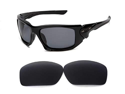 Galaxy Lentes De Repuesto Para Oakley Scalpel Negro Polarizado,GRATIS S&H - Negro, regular