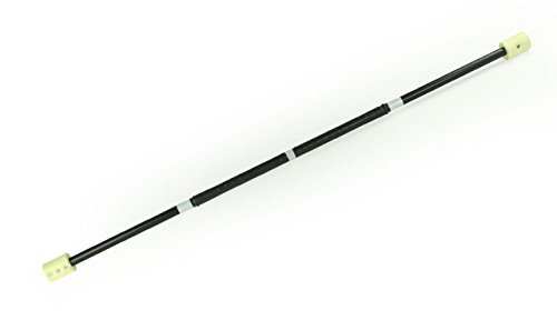 Fire Spinning Staff, 5ft with Wick Made of Kevlar and Cushion Grip, by:Trick Concepts