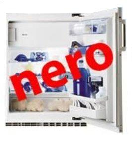 SIBIR Komfort eco Swiss Integrierte 125l A++ Schwarz - Kühlbox (integriert, schwarz, rechts, Glas, 125 L, 109 L)