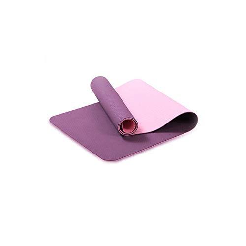 Dubbelkleurige Yogamat, Beroep Fitness Pilates Mat, Dubbelzijdig antislip Rubberen Yogamat, voor Home Gym Yoga, Pilates Sport