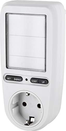Digitaler LCD Energiekosten-Messer Pro + Stromverbrauchs-Zähler 3680W - LED geeignet