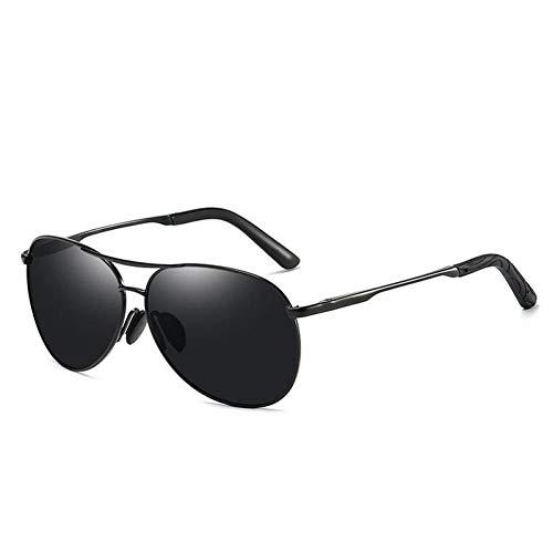 SHENY Nuevos Gafas De Sol Hombres Camaleón Gafas Polarizadas Cambiar Color Marca Gafas De Sol Día Visión Nocturna Gafas De Conductor 8013 Negro Negro