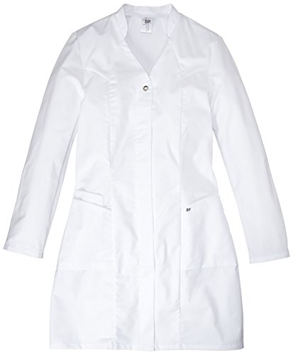 NeoLab 4-1577 werkmantel voor dames, getailleerd, 100 procent CO, maat 40, wit